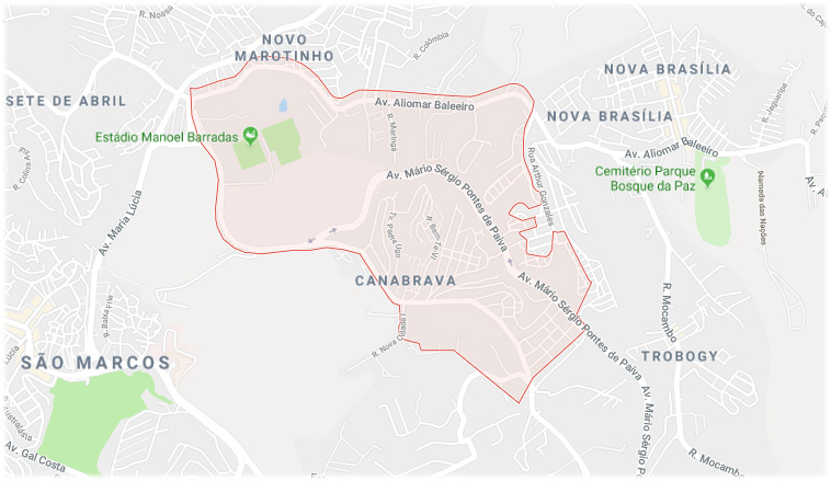 Bairro Canabrava Salvador