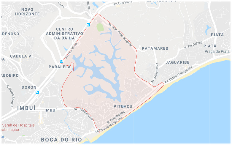 Bairro Pituaçu Salvador