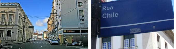 Rua Chile Salvador