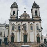 Igrejas no Pelourinho